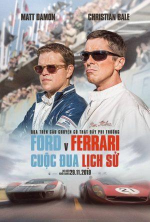 Ford v. Ferrari: Cuộc Đua Lịch Sử